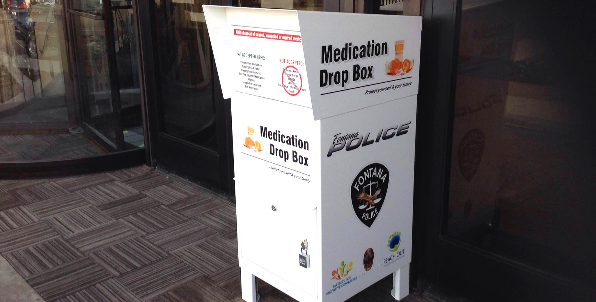 Medication Drop Box horizontal