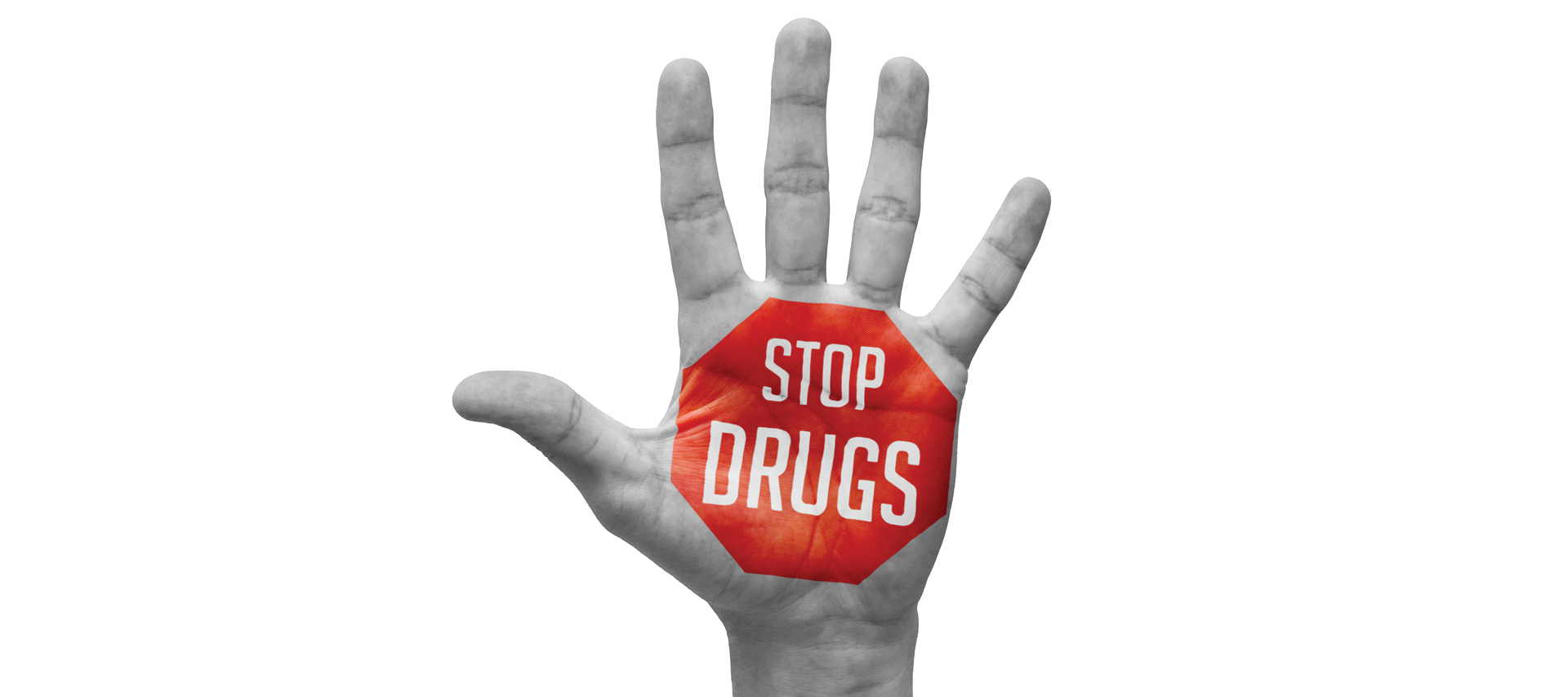 stop drugs horizontal